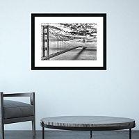 Amanti Art Evening Commute Golden Gate Bridge Framed Wall Art