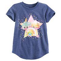 Girls 4-10 Jumping Beans® Shopkins Ice Cream Kate, Rainbow Bite & Linda Layered Cake Tee