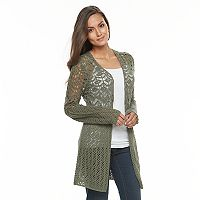 Women's Olivia Sky Crochet Cardigan
