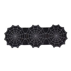 Celebrate Halloween Together Spider Web Table Runner - 36\