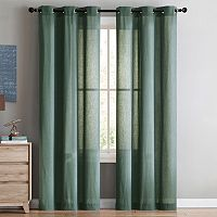 VCNY Home 2-pack Jeanette Curtain