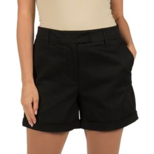 Women's Harve Benard Cuffed Twill Shorts
