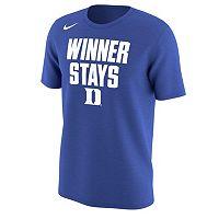 Men's Nike Duke Blue Devils Selection Sunday Tee
