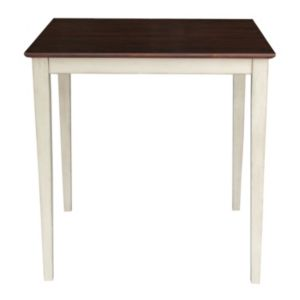 International Concepts Square Counter Height Wood Dining Table