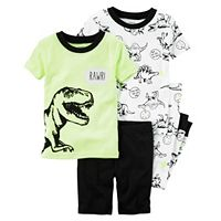 Boys 4-12 Carter's 4-Piece Dinosaur Pajama Set