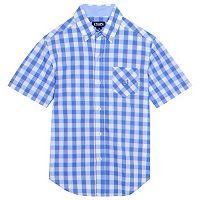 Boys 4-20 Chaps Plaid Button-Down Shirt