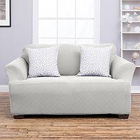 Home Fashion Designs Cambria Collection Luxury Plush Form Fit Sofa Slipcover