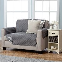 Home Fashion Designs Adalyn Collection Loveseat Slipcover