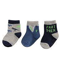 Baby Boy / Toddler Boy Carter's 3-pk. Printed Crew Socks