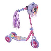 Disney Princess Ariel, Belle & Rapunzel Youth 3-Wheel Scooter with Handlebar Bag by Huffy