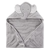 Baby Boy Carter's Elephant Hooded Towel