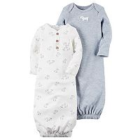 Baby Boy Carter's Dog Sleeper Gowns