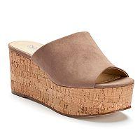 Style Charles by Charles David Clarissa Women's Platform Wedge Sandals