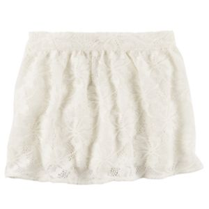 Girls 4-8 Carter's Lace Skirt