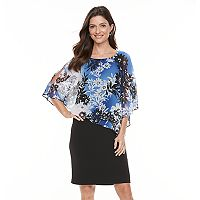 Women's Connected Apparel Floral Popover Dress