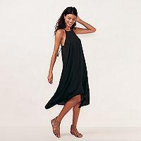 Women's LC Lauren Conrad Halter Slip Dress