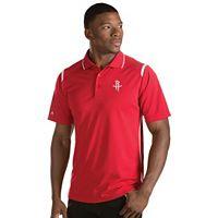 Men's Antigua Houston Rockets Merit Polo