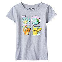 Girls 7-16 Pokemon Squirtle, Bulbasaur, Charmander & Pikachu