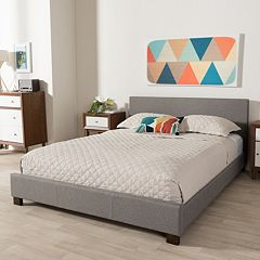 Baxton Studio Elizabeth Contemporary Platform Bed  by