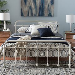 Baxton Studio Mandy Metal Platform Bed  by