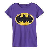 Girls 7-16 Lego Batman Graphic Tee