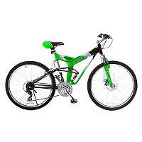 Men's Titan 26-Inch Glacier-Pro Alloy Dual-Suspension All-Terrain Mountain Bike