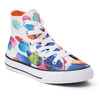 Girls' Converse Chuck Taylor All Star Floral Petals High Top Sneakers