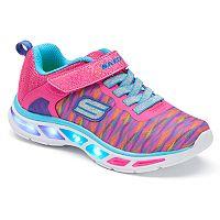 Skechers S Lights Litebeams Colorburst Girls' Light-Up Sneakers