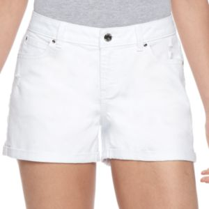 Women's Jennifer Lopez Cuffed Jean Shorts
