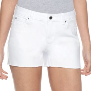 Women's Jennifer Lopez Raw Edge Jean Shorts