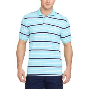 Big & Tall Chaps Classic-Fit Striped Polo