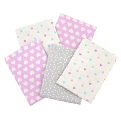 Click here to buy Gerber 5-pk. Patterned Flannel Receiving Blankets.