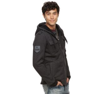 Men's Rock & Republic Military Sherpa Hoodie