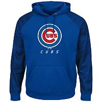 Big & Tall Majestic Chicago Cubs Armor Hoodie