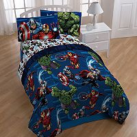 Marvel Avengers Heroic Age 4-piece Twin Bed In A Bag Set