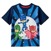 Toddler Boy PJ Masks Gekko, Catboy & Owlette Graphic Tee