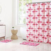 Clairebella 15-piece Flamingo Bathroom Set