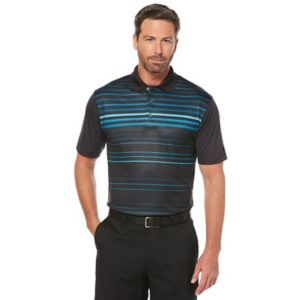 Men's Grand Slam Slim-Fit Motionflow 360 Striped Performance Golf Polo