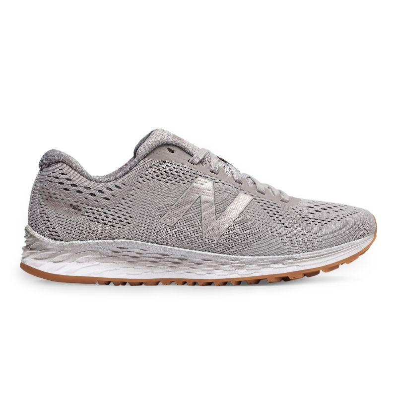 New Balance Fresh Foam Arishi Women's Running Shoes, Size: 7 Wide, Light Grey thumbnail