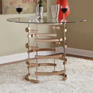 HomeVance Aralia Counter Height Dining Table