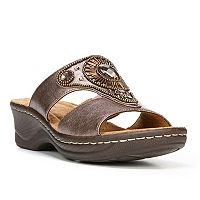 NaturalSoul by naturalizer Saturn Women's Wedge Sandals