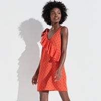 k/lab Ruffle Mini Dress