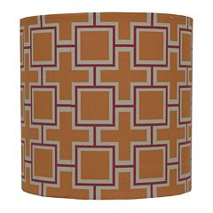 Decor Therapy Geometric Drum Lamp Shade by