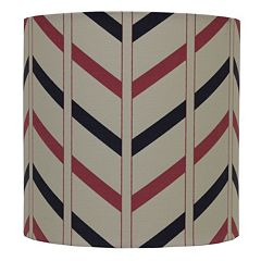 Decor Therapy Chevron Drum Lamp Shade by