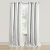 Beatrice Home Fashions 2-pack Empire Curtain
