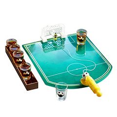 Game Night Soccer Game Shot Glass Set by