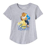 Disney's Beauty & The Beast Girls 7-16 Belle & Beast Graphic Tee