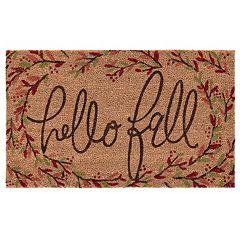 Mohawk Home ''Hello Fall'' Branches Coir Doormat 18'' x 30''