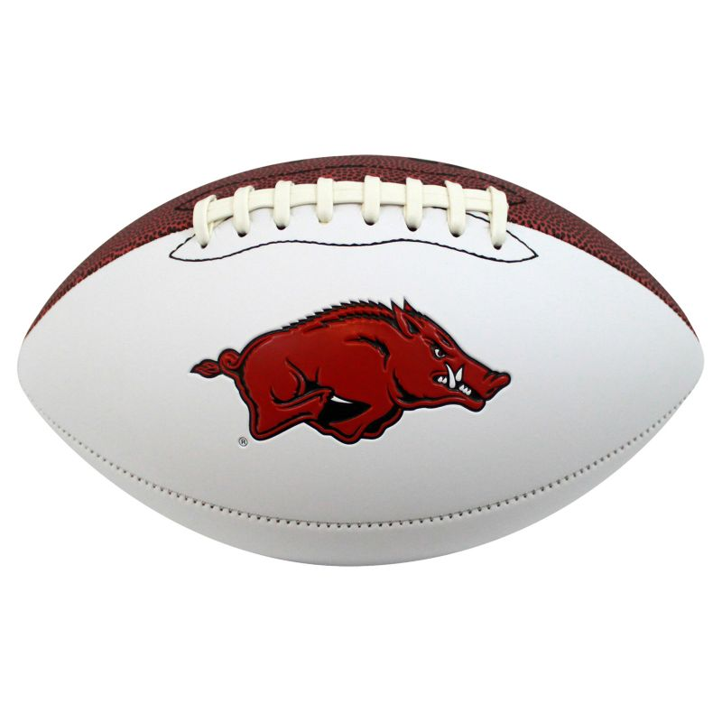 Baden Arkansas Razorbacks Official Autograph Football, Multicolor thumbnail