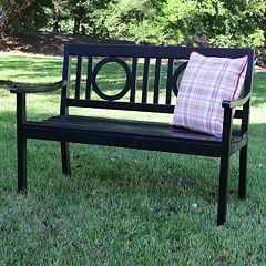 Bentley Outdoor Wood Bench  by